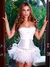 Snowflake Corset With Tutu Skirt