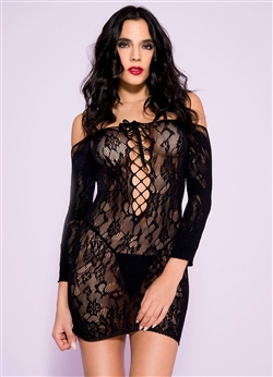 Off The Shoulder Sexy Chemise