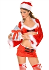 Miss Santa 3 PC Costume