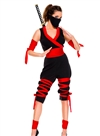 Fierce Ninja  7 PC Costume