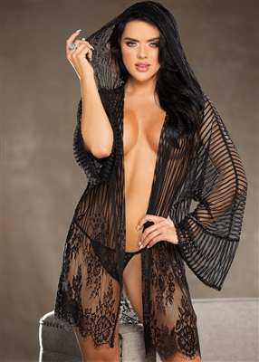 Shirley Of Hollywood Alluring Robe Set