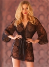 Sultry Lace Robe