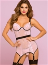 Blush Bond Slimming Chemise Set