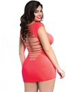 Bringing Sexy Back Plus Size Seamless Dress